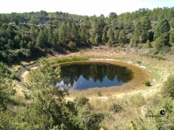 """El """"Lagunillo del tejo"""" en Torcas de Palancares y Lagunas de Cañada del Hoyo"""
